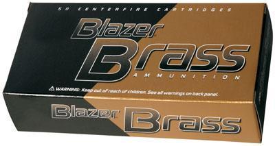 1000 Round Case Blazer Brass 9mm