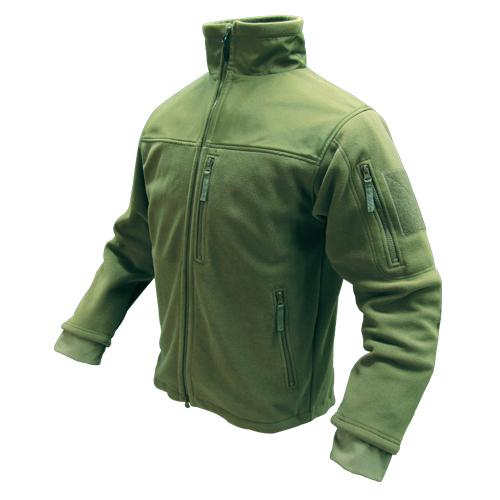 Alpha Micro Fleece Jacket OD Med