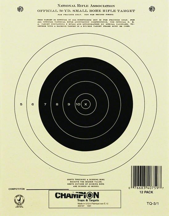 Champion Official Nra Targets