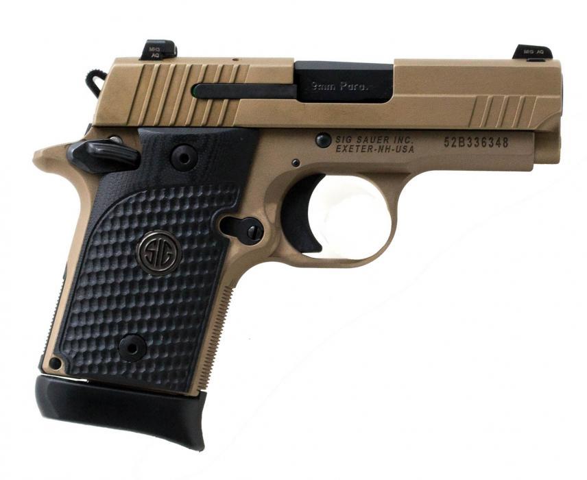 """Sig P938 Emperor Scorpion 9mm 3"""""""