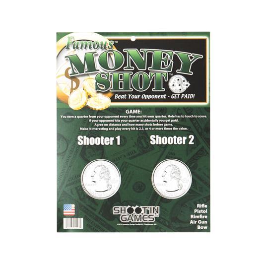 Famous Money Shot Target