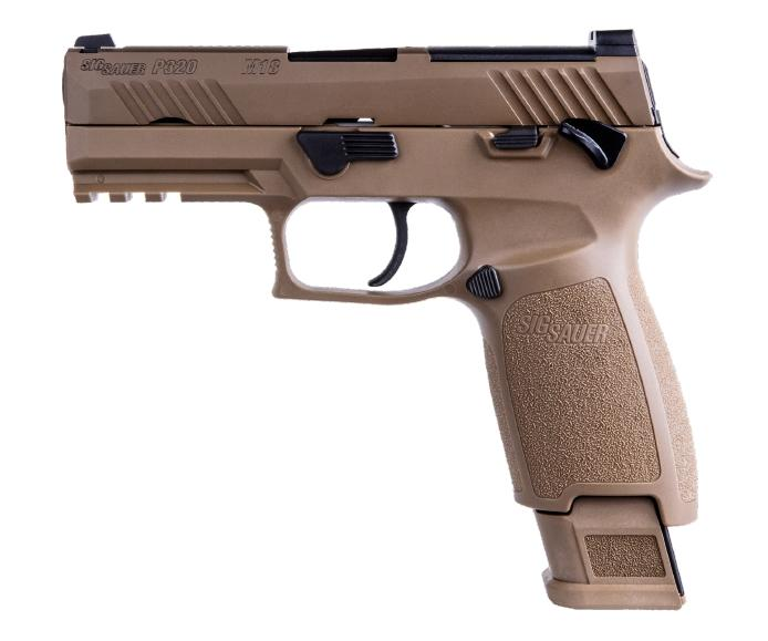 SIG P320 M18 Carry 9mm Coyote