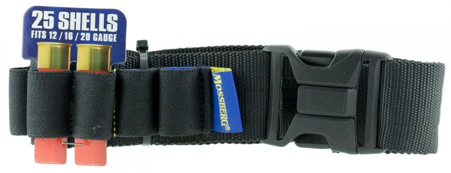 Mossberg 0sbrg005blk Mossberg Shotgun Belt Black