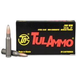 Tula 308win 165gr Sp 20/500