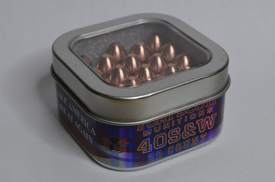 40s&w 125gr 20rds - Fort Defense