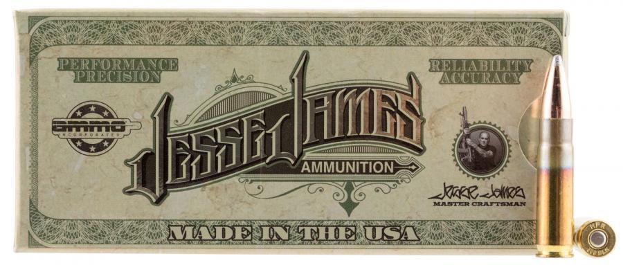 Jesse James 300blk 110gr SP 20rd