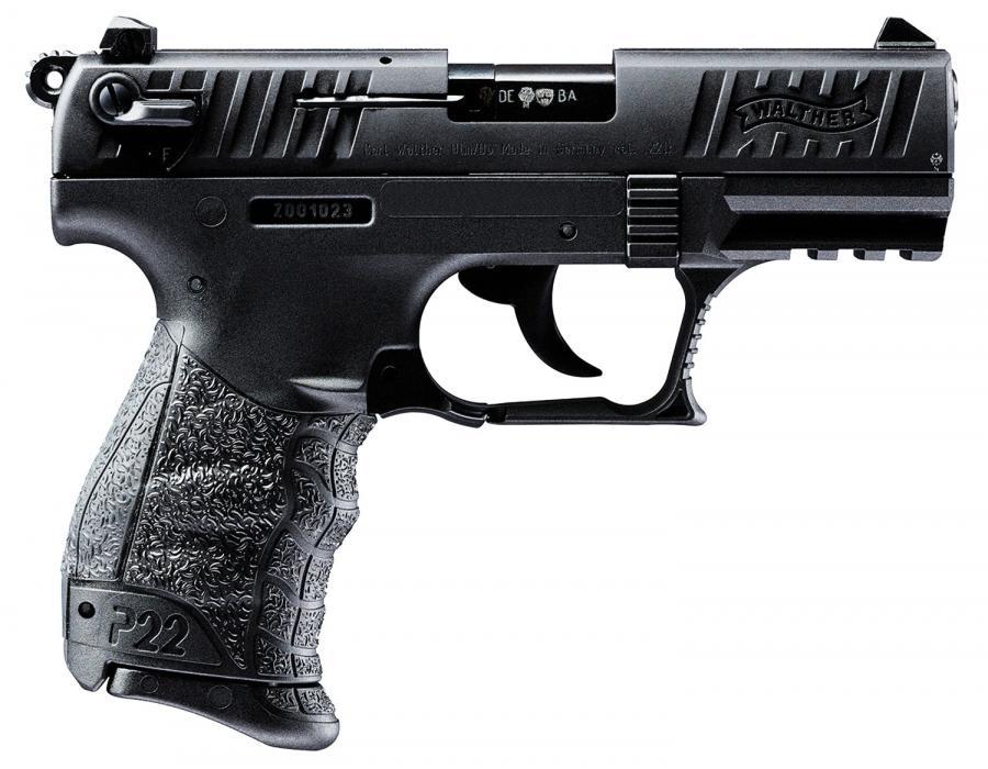 "Walther P22ca *ca* 22lr 3.42"" 10+1"