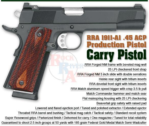 "5"" RRA Carry Pistol"