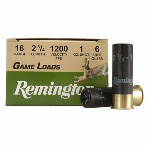"""Remington Game Loads 16ga 2.75"""" 1200fps"""