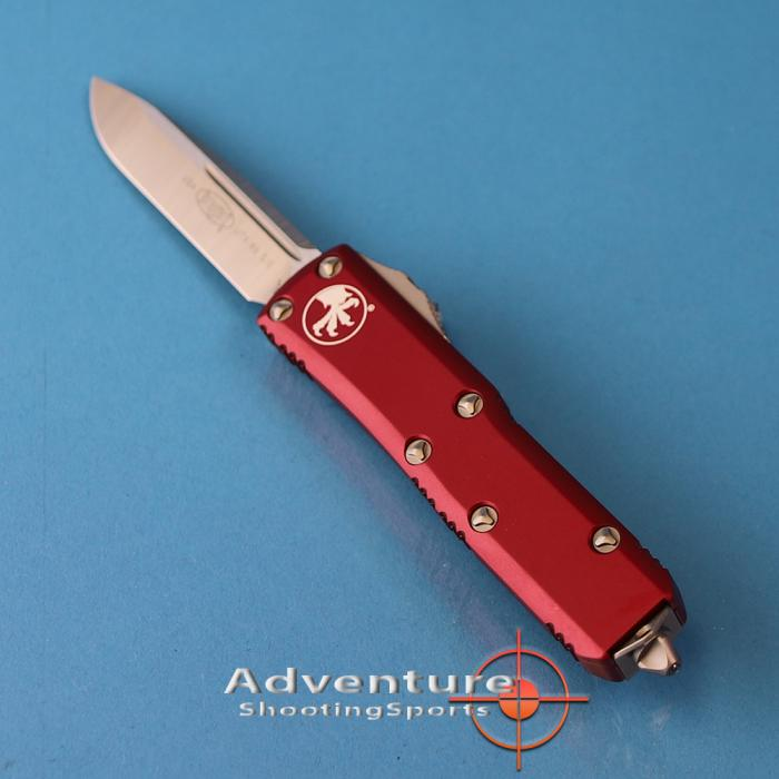 231-4rd Microtech Utx-85 S/E Satin Red