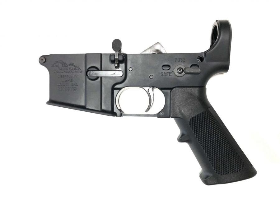 Lower Receiver With LPK Installed With