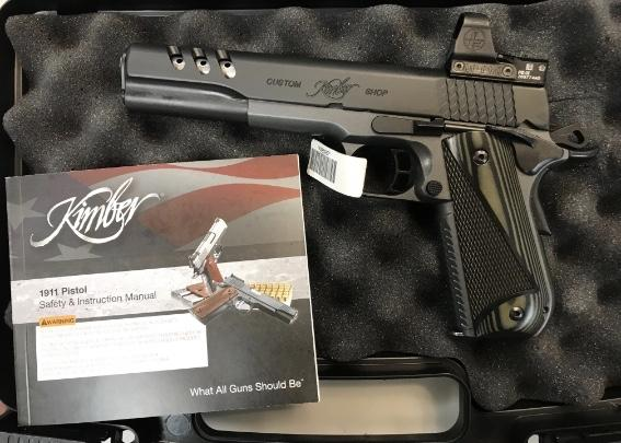 Kimber Super Jagare 10mm Pistol 1911