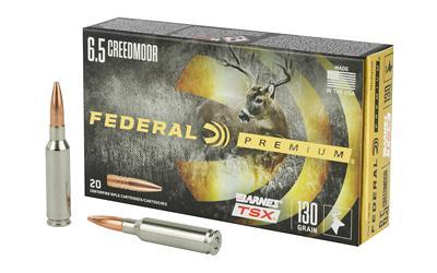 Fed Prm 6.5crd 130gr Brns Tsx