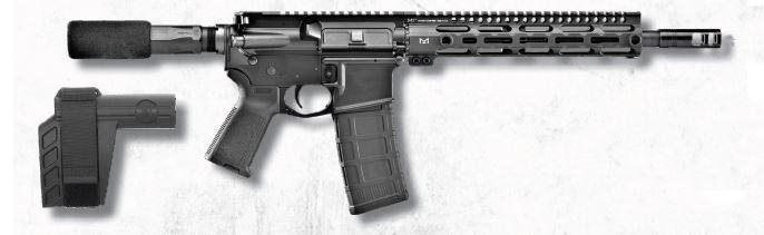Fn15 Pistol 300blk Black