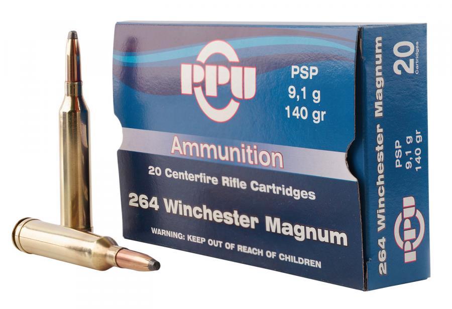 PPU Pp264 Standard Rifle 264 Winchester