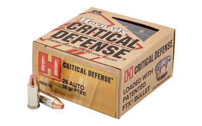 Horn 90014 Critdef 25 ACP 35