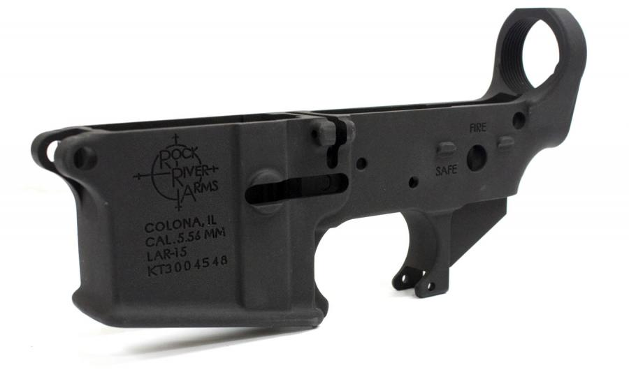 Lar-15 Forged Lower Receiver, Stripped