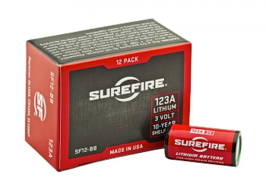 Surefire 123a 3V Quantity 12