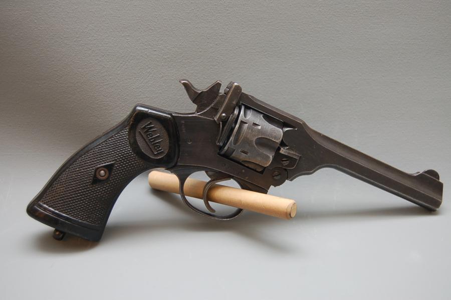 Used Webley Revolver Mark IV