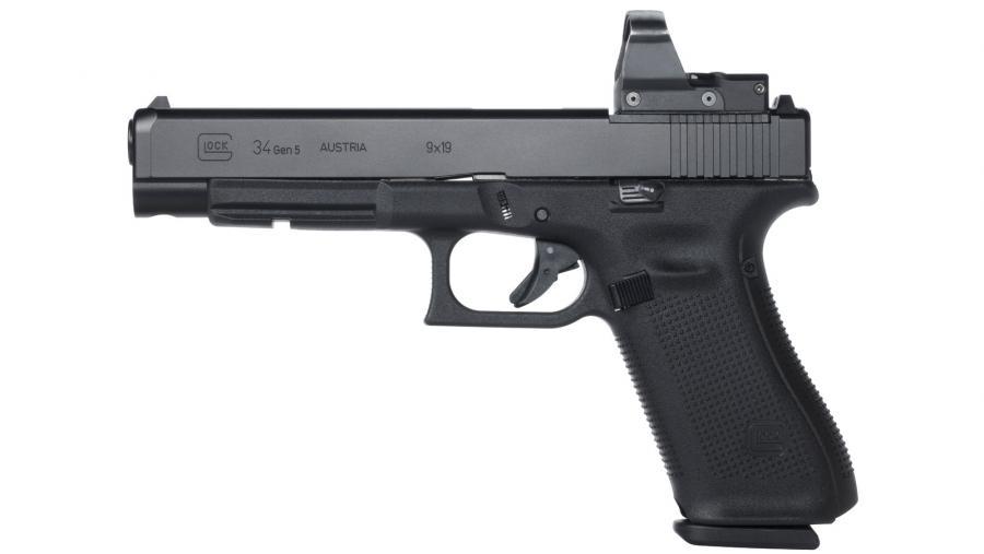 "Glock 34 Gen5 MOS 9mm 5.3"""