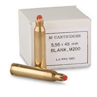 Ppu 5.56x45 Blank - 20rds