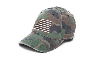 Phu American Flex Hat Camo/blk S/m