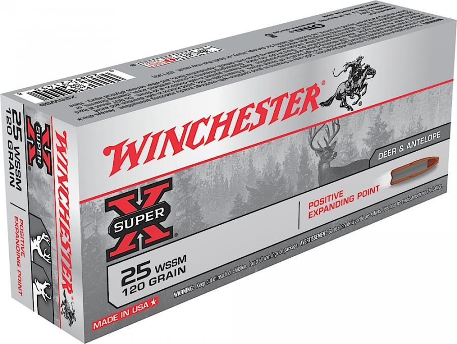 Win Ammo Super X 25 Win