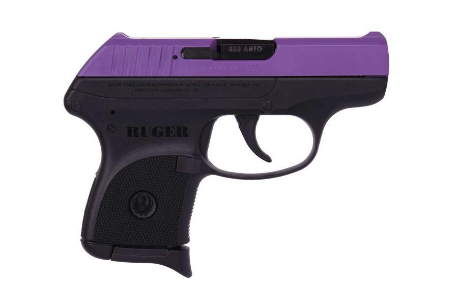 Lcp 380acp Purple/polymer 6+1