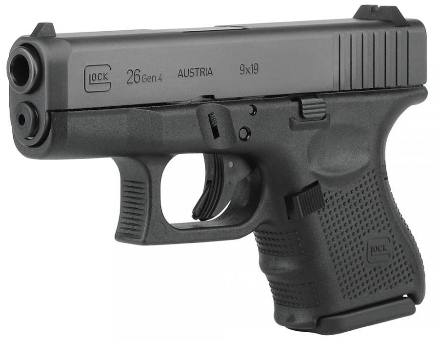 Glock G26 G4 9mm 10+1 FS