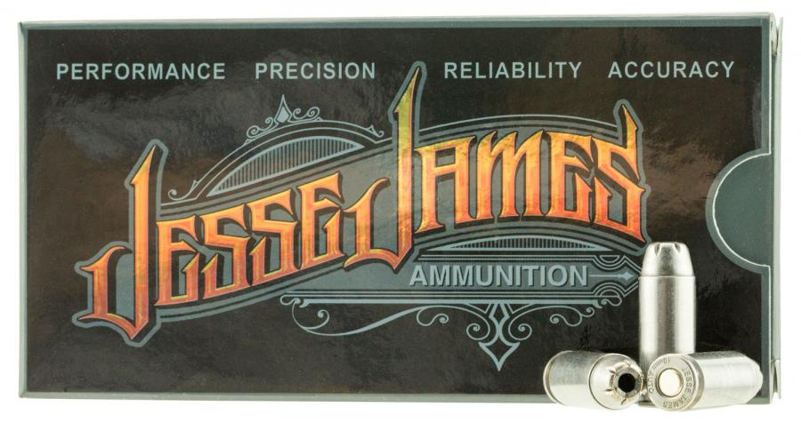 Ammo Inc 10180hpjj20 Jesse James 10mm