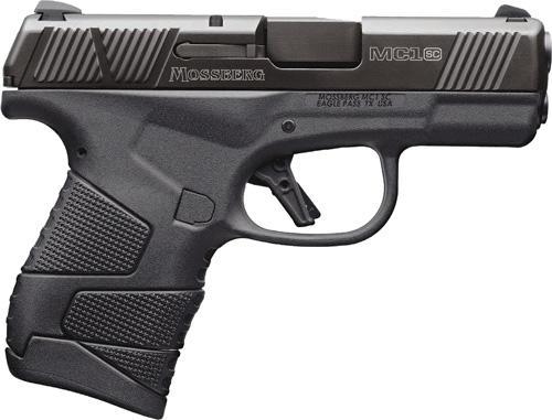 "Mossberg Mc1-sc 9mm 3.4"" 6&7rd Blk"
