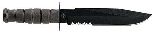 Ka-bar Black Kabar Fighter Serrated