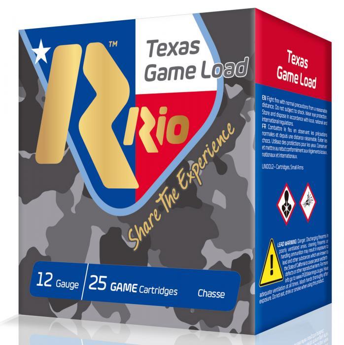 RIO Tg3675tx 12 2.75 11/4oz Txgame