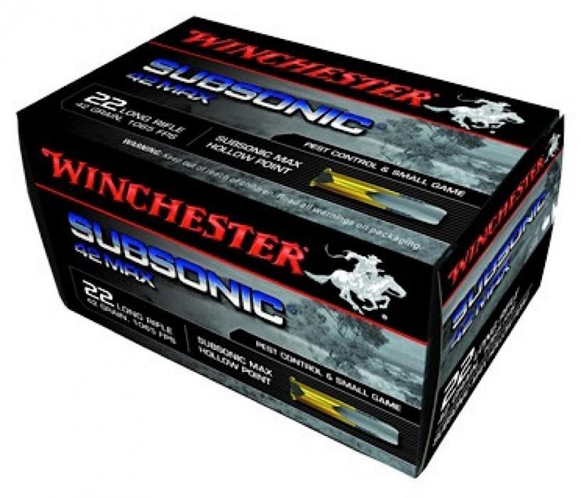 Winchester Ammo 42 Max 22 LR
