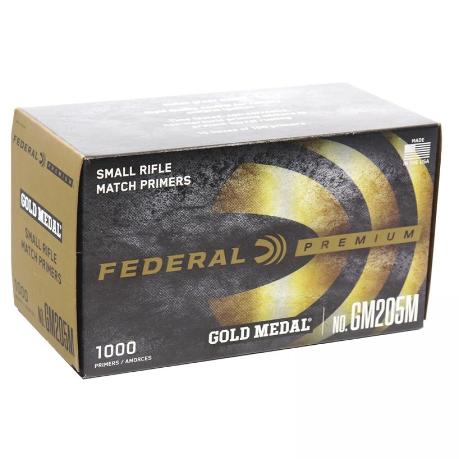 Federal Small Rifle Match Primers 10