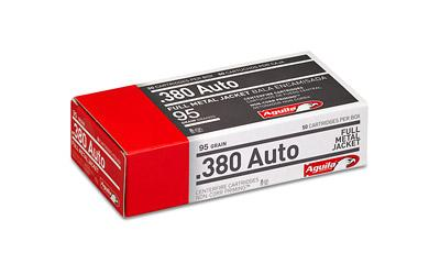 Aga 380acp 95gr Fmj 50ct/box