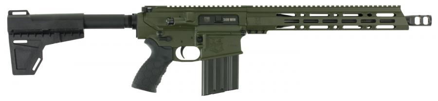 "Diamondback Db10 Pistol 308win 13.5"" OD"