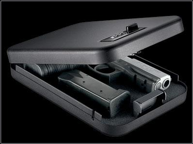 Gunvault Nano Vault Gun Safe Black