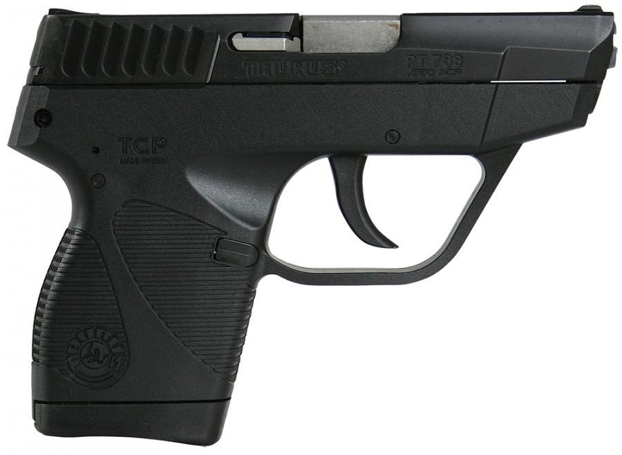 """Taurus Pt738tcp .380acp Bk/bk 2.8"""" 1X6"""
