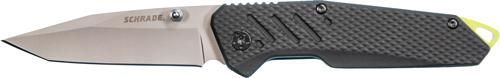 Schrade Knife Black Aluminum