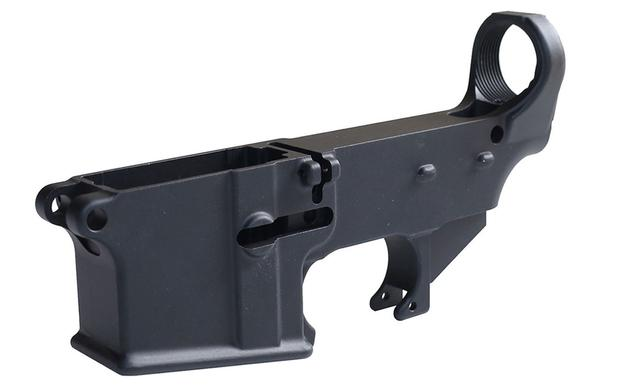 Anodized 80% Lower Receiver