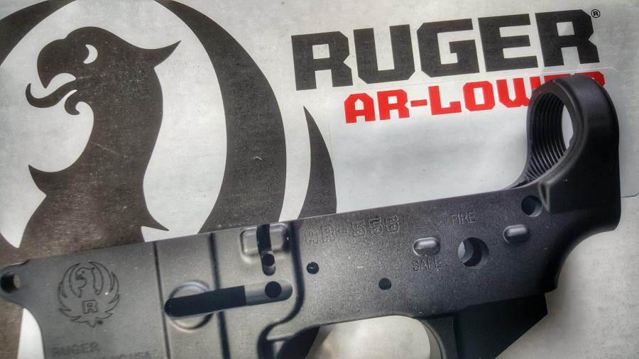 Ruger Ar Stripped Lower Forged Blk