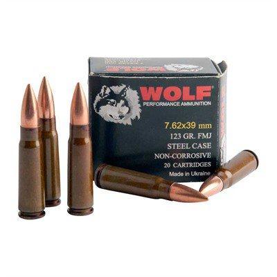 Wolf Performance Ammo Polyformance 7.62x39 123gr