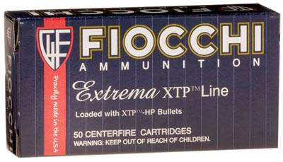 Fiocchi 38sp 125gr XTP HP 25box/20case