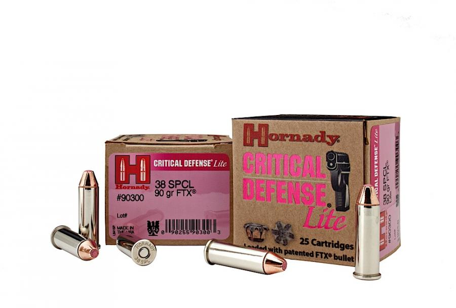 Hornady Critical Defense .38 Spl 90gr
