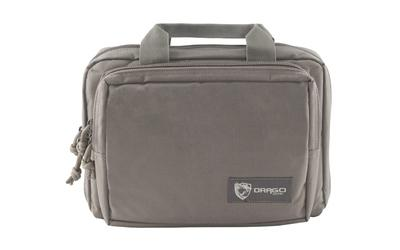 Drago Gear Double Pistol Case Gray