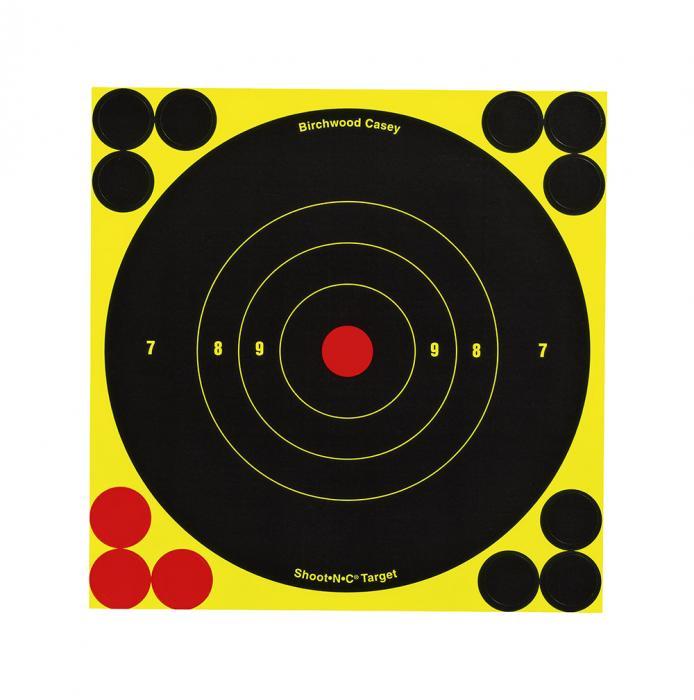 "Birchwood Casey Shoot-n-c Paster 6"" 12"