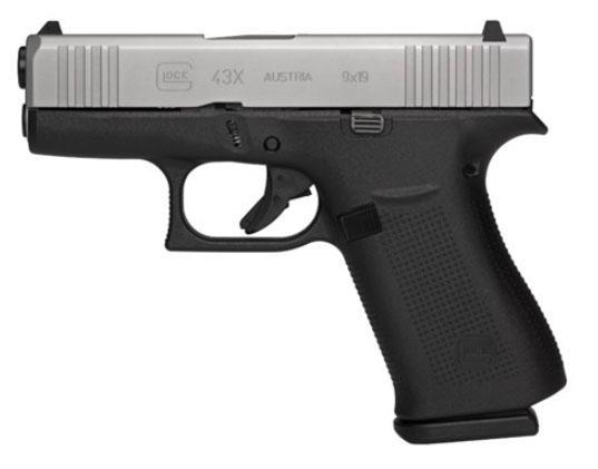 Glock 43x 9mm Pst 10rd Bold