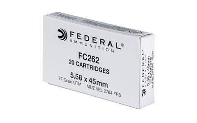 Federal Fc262 556nato 77gr Smk 20rd