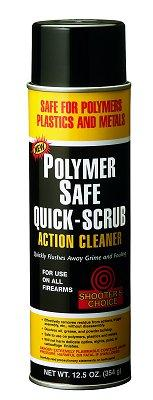 Shooters Choice Quick Scrub Polymer Safe
